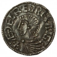 Aethelred II 'Longcross' Silver Penny Exeter