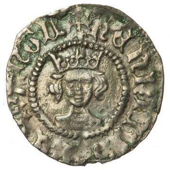 Henry VI Silver Halfpenny Rosette-mascle