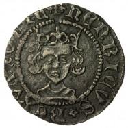 Henry VI Silver Penny Rosette-mascle