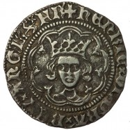 Henry VI Silver Halfgroat Annulet London