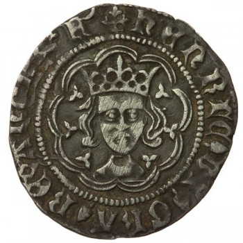 Henry VI Silver Halfgroat Pinecone-mascle