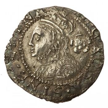 Elizabeth I Silver Threefarthings