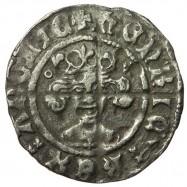 Henry V Silver Penny - altered die of Henry IV