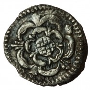 Charles I Silver Halfpenny