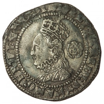 Elizabeth I Silver Threepence 1573