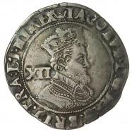 James I Silver Shilling