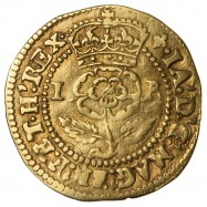 James I Gold Thistle Crown