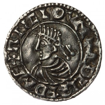 Aethelred II 'Last Small Cross' Silver Penny Winchester