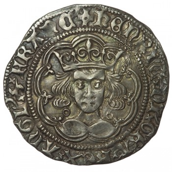 Henry VI Silver Groat Annulet Issue