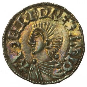 Aethelred II 'Longcross' Silver Penny