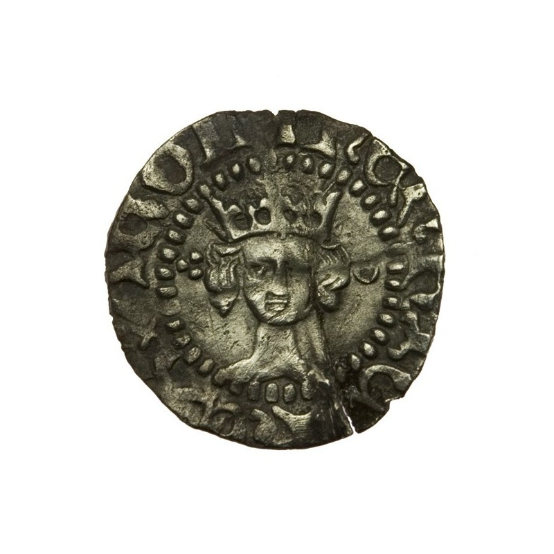 Henry V Silver Halfpenny