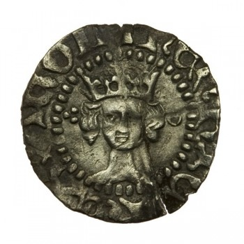 Henry V Silver Halfpenny 1