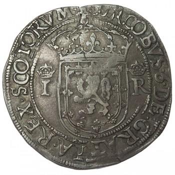 James VI Silver Ryal - Scottish