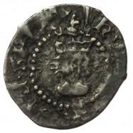 Henry VIII Silver Halfpenny