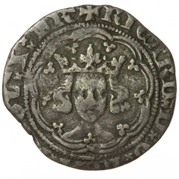 Richard II Silver Halfgroat