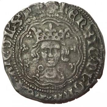 Henry VI Silver Halfgroat Annulet