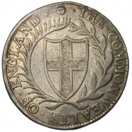 Commonwealth 1652 Silver Crown