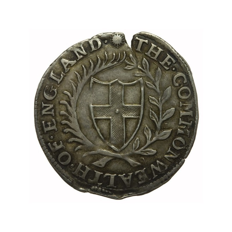 Commonwealth 1652 Silver Sixpence