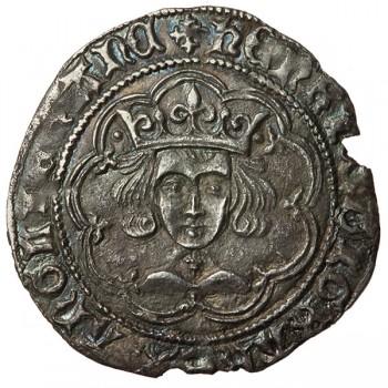Henry VI Silver Groat Lis-Pellet