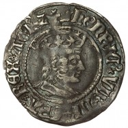 Henry VII Silver Halfgroat...