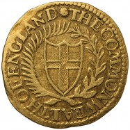Commonwealth 1650 Gold Crown