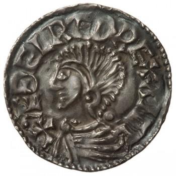 Aethelred II 'Longcross' Silver Penny Exeter