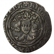 Richard II Silver Halfgroat...
