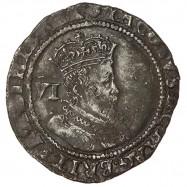 James I Silver Sixpence 1606