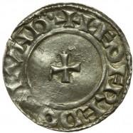 Edward The Confessor 'Radiate/Small Cross' Silver Penny