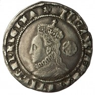 Elizabeth I Silver Sixpence 1575