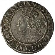 Elizabeth I Silver Sixpence...