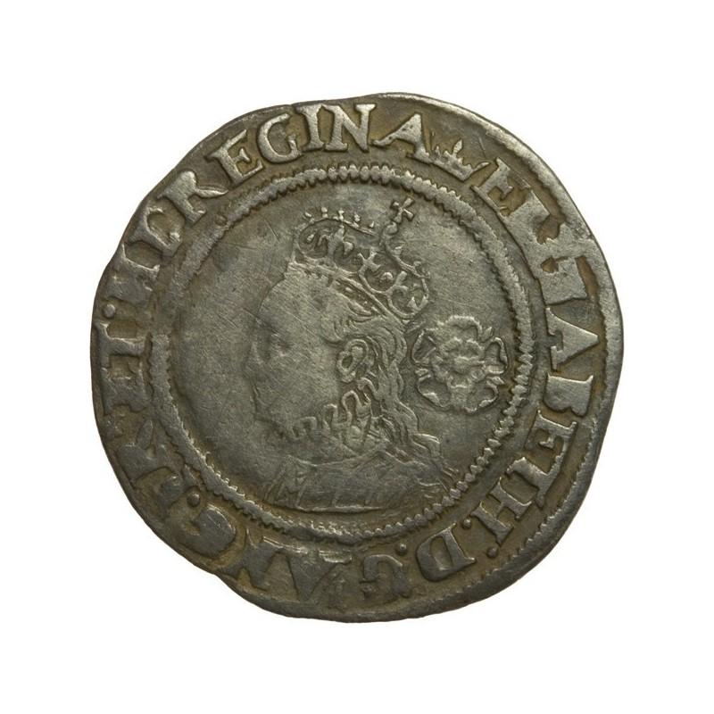 Elizabeth I Silver Sixpence 1568