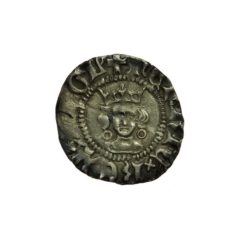 Henry VI Silver Halfpenny Annulet