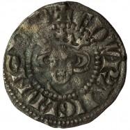 Edward I Silver Halfpenny