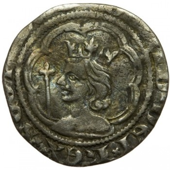 David II Silver Halfgroat - Scottish