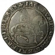James I Silver Halfcrown
