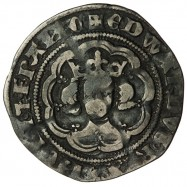 Edward III Silver Halfgroat C