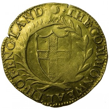 Commonwealth 1653 Gold Unite