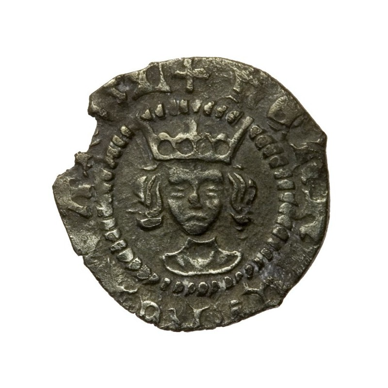 Henry VI Silver Farthing Pinecone-mascle