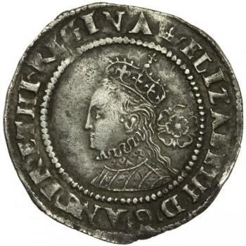 Elizabeth I Silver Sixpence 1567