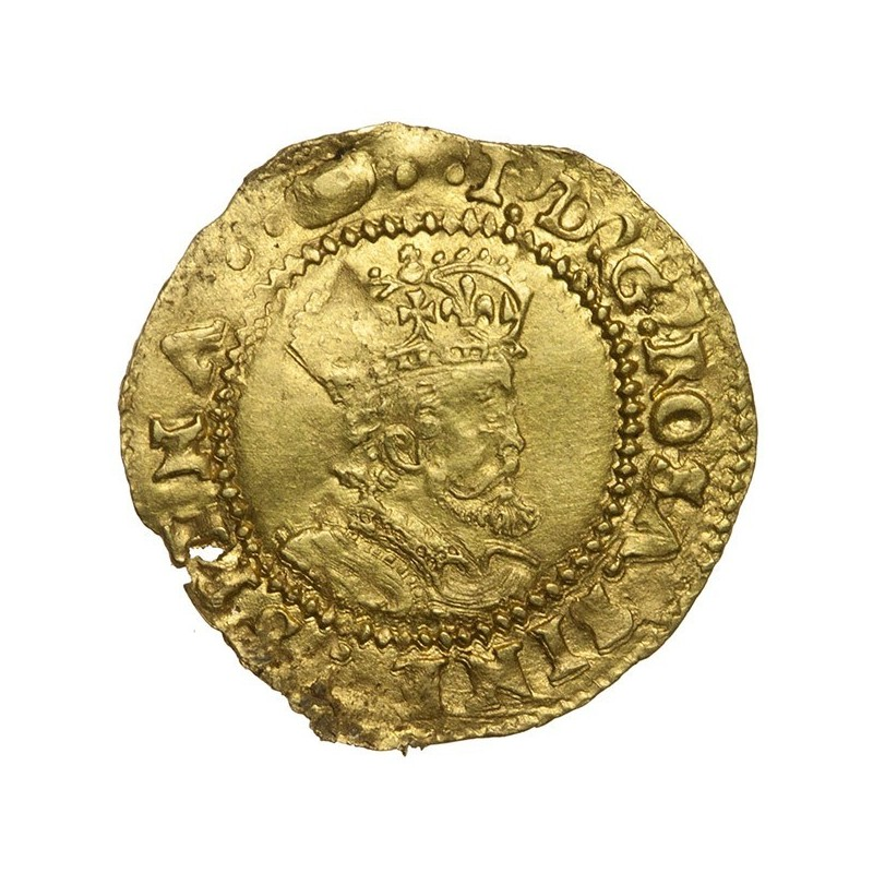 James I Gold Halfcrown