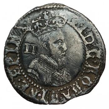 James I Silver Halfgroat