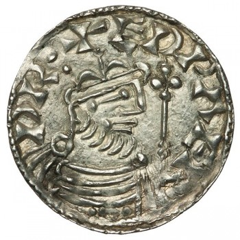 Edward The Confessor 'Hammer Cross' Silver Penny