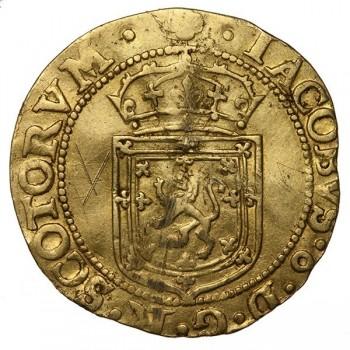 James VI Sword and Sceptre piece