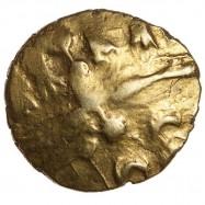 Dobunni 'Sunburst Little Horse' Gold Quater Stater