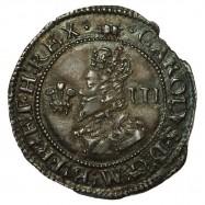 Charles I Silver Threepence Aberystwyth