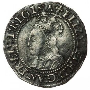Elizabeth I Silver Halfgroat