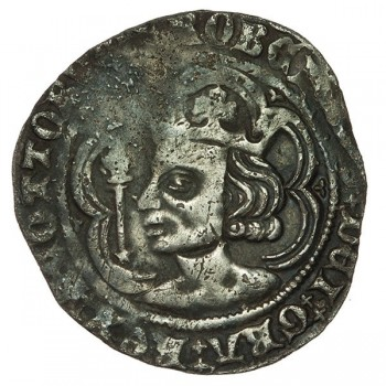 Robert II Silver Groat - Scottish