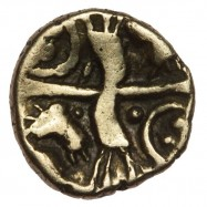 Belgae 'Hampshire Thunderbolt' Gold Quarter Stater
