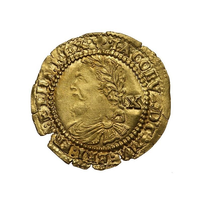 James I Gold Half Laurel